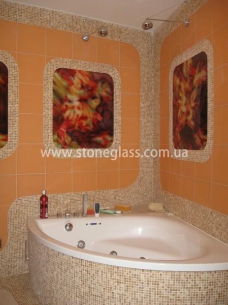 Декоративные панно для ванной комнаты