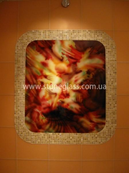 Декоративные панно и панели из безопасного стекла