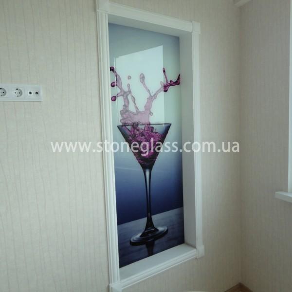 декоративные панно из безопасного стекла