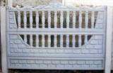 Декоративный бетонный (железобетонный) забор. Еврозабор. №1