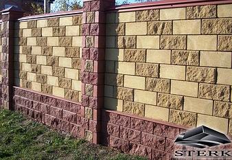 декоративный блок (рваный камень)
