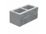 Фото  1 Декоративный колотый блок 400х200х200 серый 2088557