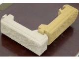 Декоративный заборный и столбовой кирпич сборной(блок). Размеры заборных и столбовых блоков 23.7*7.5*10.7
