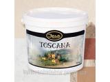 Декоративное матовое покрытие Toskana 15кг
