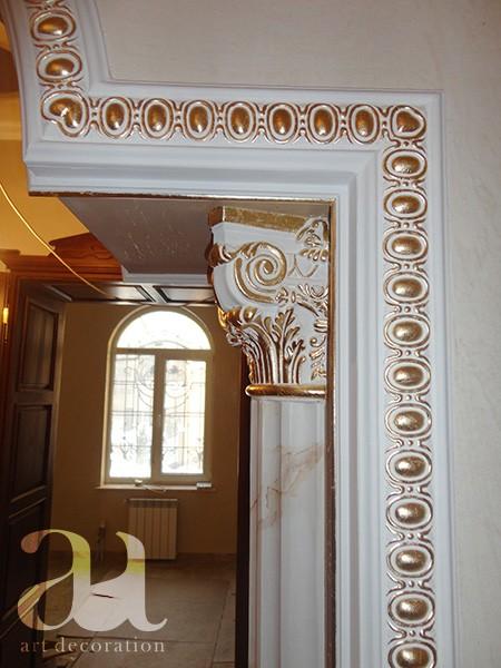 Декорування багетів, колон, капітелей
