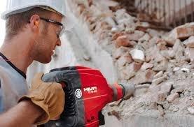 Демонтаж бетонных перегородок (3-5 см.) в квартире