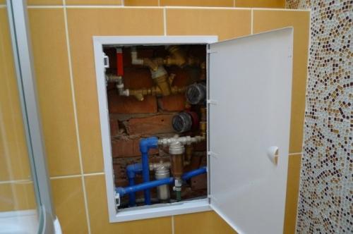 демонтаж и монтаж труб водоснабжения и каналицации