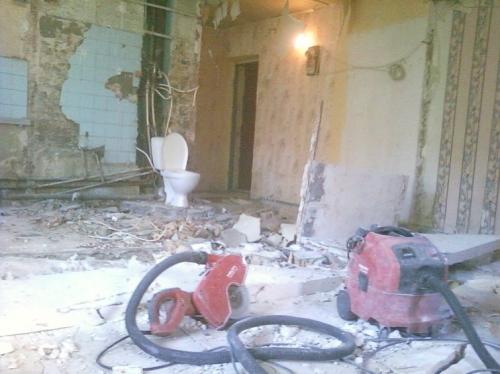Демонтаж стен, демонтаж бетона. перегородок, перекрытий. комплексный демонтаж