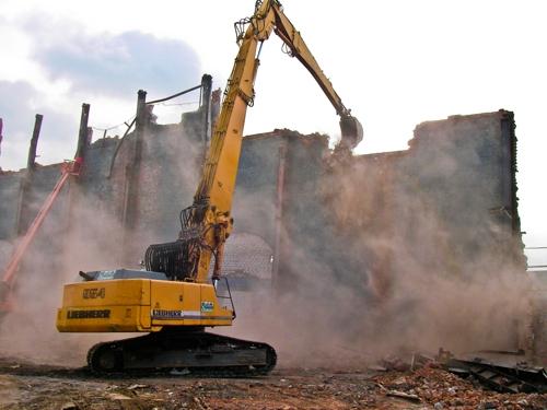 Демонтаж зданий демонтаж бетона, кирпича, демонтаж стяжки, фундамента. Аренда экскаватора, гидромолота, бульдозера.