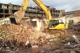 Демонтаж зданий домов конструкций Харьков. Вывоз.