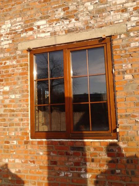 Деревяні вікна товщиною 78 та 90 мм. Двокамерний склопакет. Фурнітура Масо.