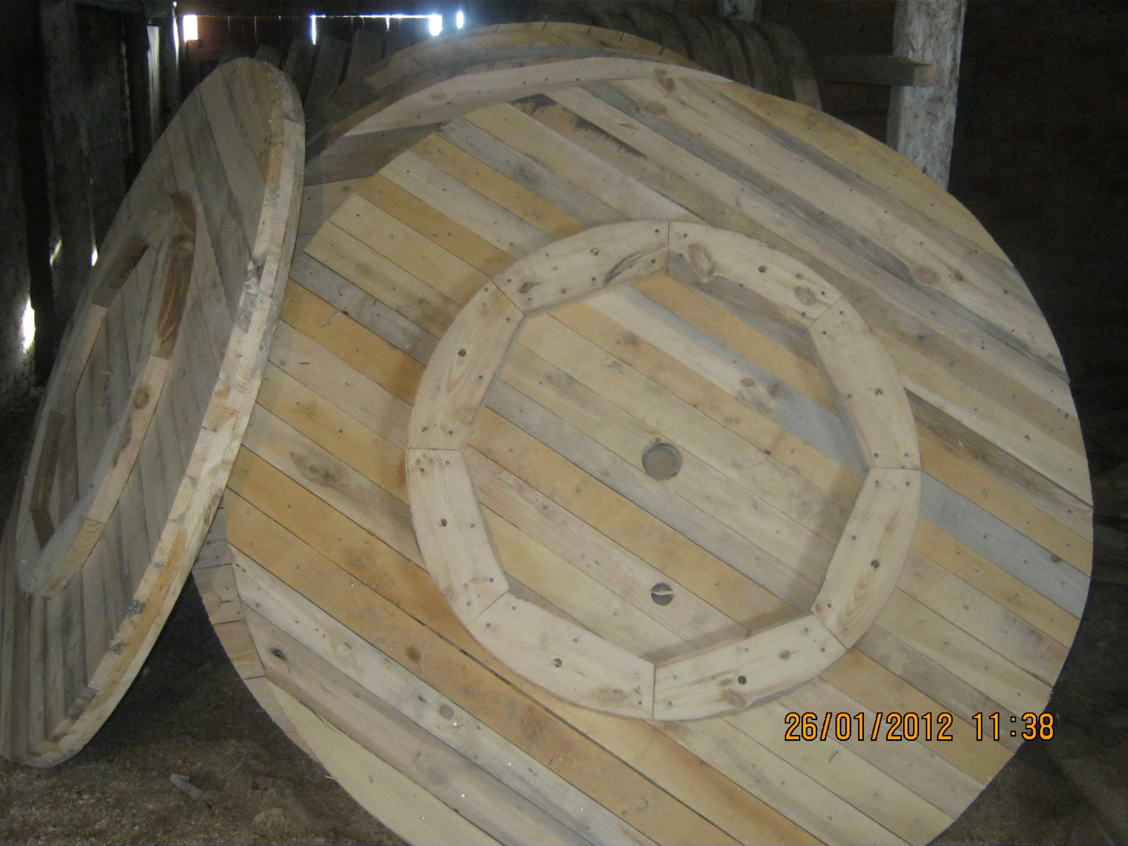деревяные кабельные барабаны от 10-20