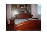 Деревянная кровать Фиона-дуга массив