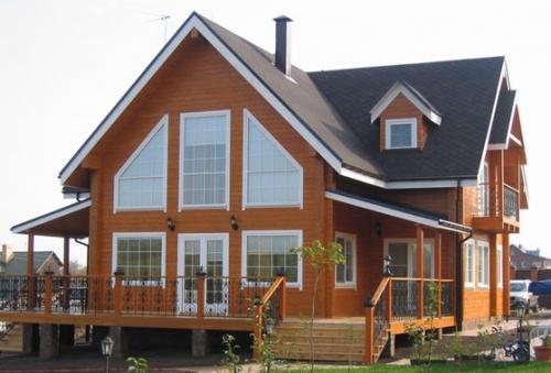 Деревянные дома профилированный массив