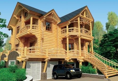 Деревянные дома, срубы, коттеджи, сауны, бани, базы отдыха, рестораны, беседки