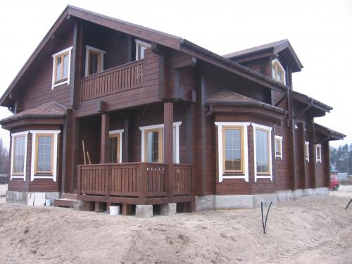 Деревянные дома в Харькове
