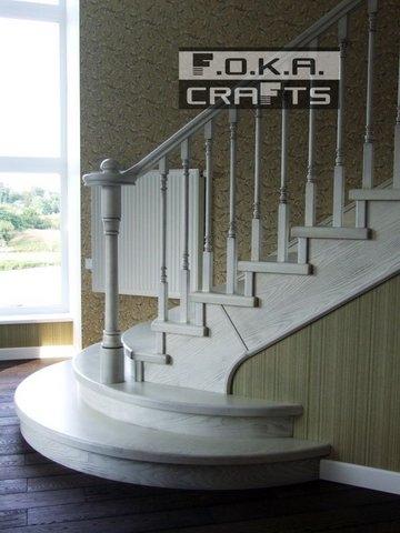 Деревянные лестницы от замера до монтажа!