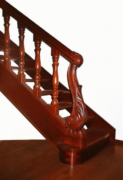 Деревянные лестницы открытые