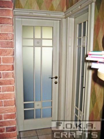 Деревянные межкомнатные двери под заказ.