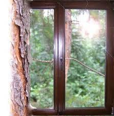 Деревянные окна из евробруса (сосна, дуб, меранти)