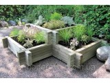 Деревянные ящики для цветов и растений