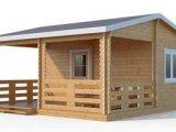 Фото 1 Деревянные домики: сборные готовые модульные садовые дачные сруб брус 344035