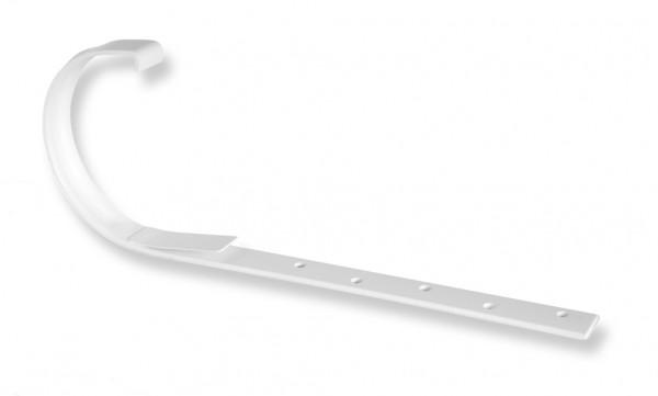 Держатель для желоба Docke, металлический 3.0 мм, белый, коричневый