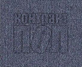 Дешевый ковролин для офиса (синий) 81