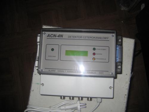 Детектор 4-х к-ний з автономним живленням ACN-4B шт. 14400,00 Детектор 4-х к-ний стаціонарний ACN-4N шт. 11300