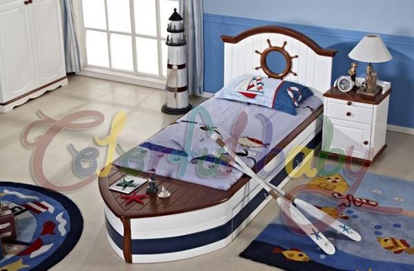 """Детская кровать """"Пиратский корабль"""""""