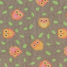 Фото  1 Детские коврики Совы коричневые 2138699