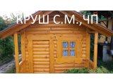 Фото 1 деревянный детский домик 338394