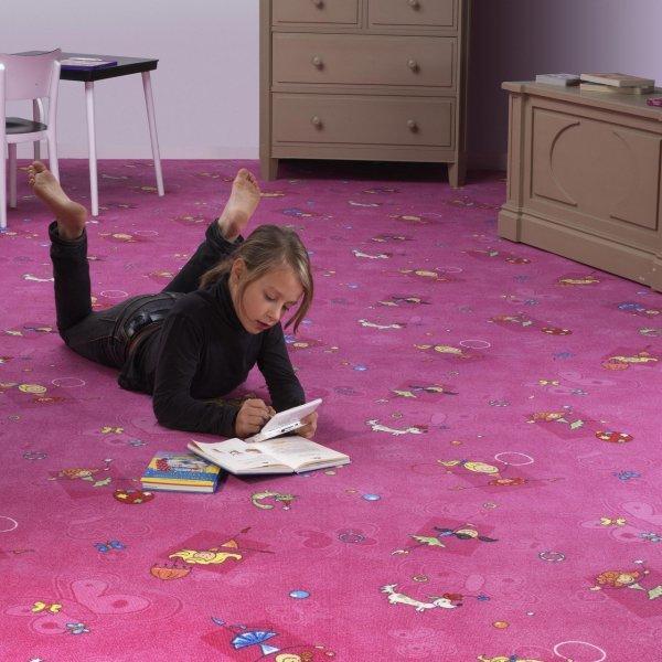 Фото  1 Детский ковер для девочки Хеппи 447 2134435