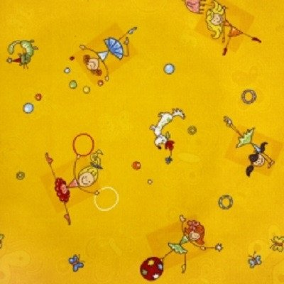 Фото  1 Детский ковер желтый Хеппи 011 2134454