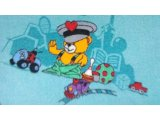 Фото  8 Детский коврик для игры на полу Фани Бир 72 2834496