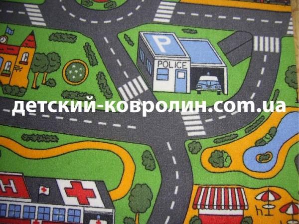Детский ковролин City Life
