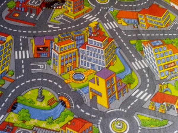 Детский ковролин Smart City
