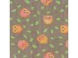 Фото  5 Детский ковролин Совы коричневые 2538693