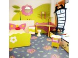 Фото  4 Детский ковролин Совы серые 2435042