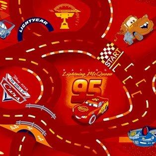 Фото  1 Детский ковролин WORLD OF CARS 10 5000 2134375