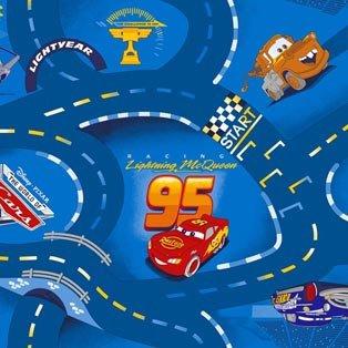 Фото  1 Детский ковролин WORLD OF CARS 77 4000 2134381