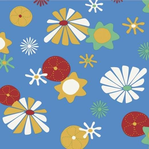 Фото  1 Детский линолеум Leoline Smart Bingo Flower 50 1000 2134165