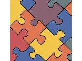 Фото  1 Детский линолеум Leoline Smart Bingo Puzzle Colour 50 2.5 м 2134161