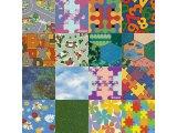 Фото  2 Детский линолеум Leoline Smart Bingo Puzzle Colour 50 2234258