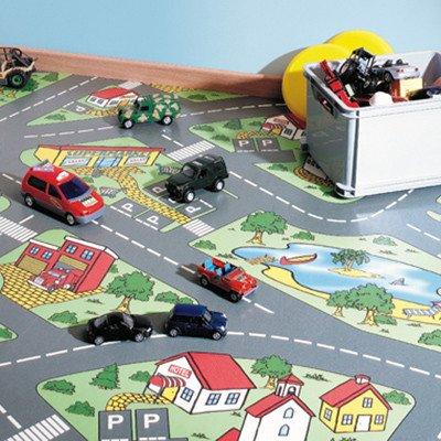 Фото  1 Детский линолеум Leoline Smart Bingo Traffic 50 1.5 м 2134153