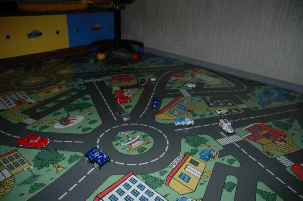 Фото  1 Детский линолеум Leoline Smart Bingo Traffic 50 4.0 м 2134157