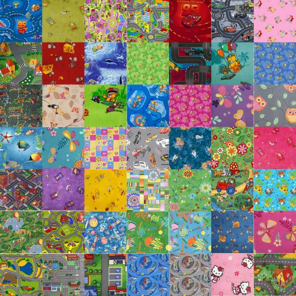 Фото  1 Детские ковры любого размера. Самый большой выбор детских рисунков в Украине более 40 дизайнов дороги, города 1265757