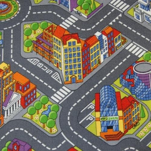 Детское ковровое покрытие Big City (Биг Сити) (Большой город)