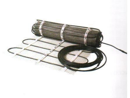 DEVIasphaltDTIK-300, 400 В Нагревательный мат двухжильный для установки в асфальт. 12 кв. м (шир 1 м дл 12 м)