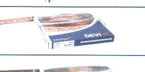 DEVIfast Copper Медная монтажная лента. Шаг крепления кабеля 2,5 см, длина 25 м